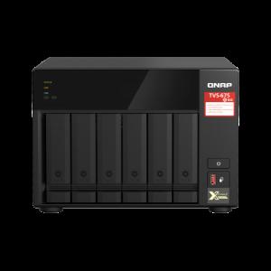 QNAP TVS-675 NAS Torre Ethernet Negro KX-U6580