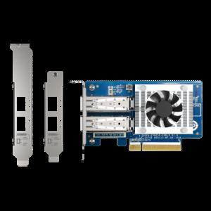 QNAP QXG-25G2SF-CX6 adaptador y tarjeta de red Interno Fibra 25000 Mbit/s
