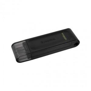 PENDRIVE 128GB USB-C 3.2 KINGSTON D70 NEGRO