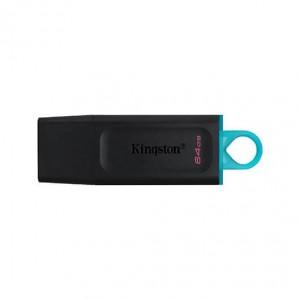 PENDRIVE 64GB USB 3.2 KINGSTON DT EXODIA NEGRO/TURQUESA