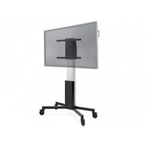 """CTOUCH 10080251 soporte de pie para pantalla plana 2,18 m (86"""") Soporte del panel plano y fijo Aluminio, Negro"""