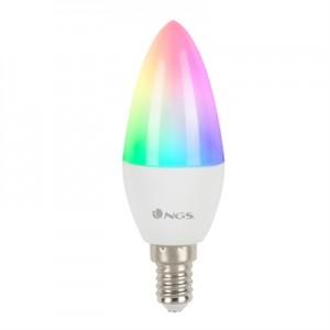 NGS Bombilla Led Wifi GLEAM514C RGB+W 40W