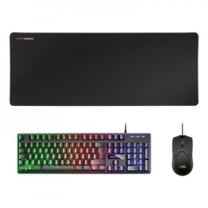 Mars Gaming Combo MCPX GAMING 3IN1 RGB Black PT