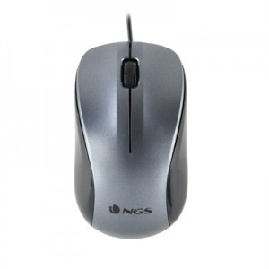 NGS Ratón Óptico WIRED GRAY