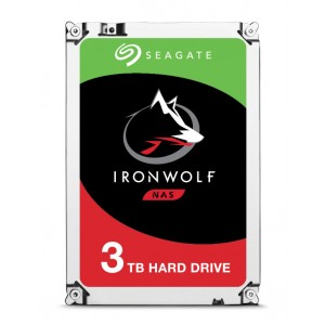 DISCO SEAGATE IRONWOLF 3TB SATA 64MB