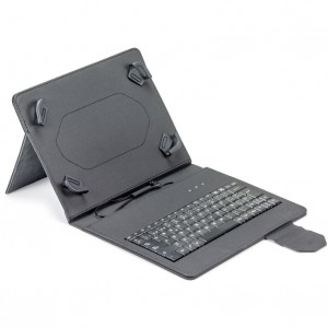 "FUNDA TABLET MAILLON URBAN KEYBOARD USB 9.7""-10.2"" NEGRO"